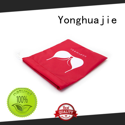 Yonghuajie digital polyester tote bags with drawstring