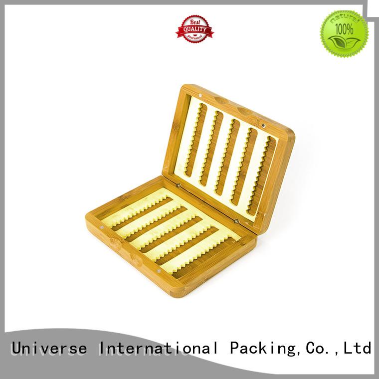 bamboo jewelry box box printed bamboo tea box manufacture