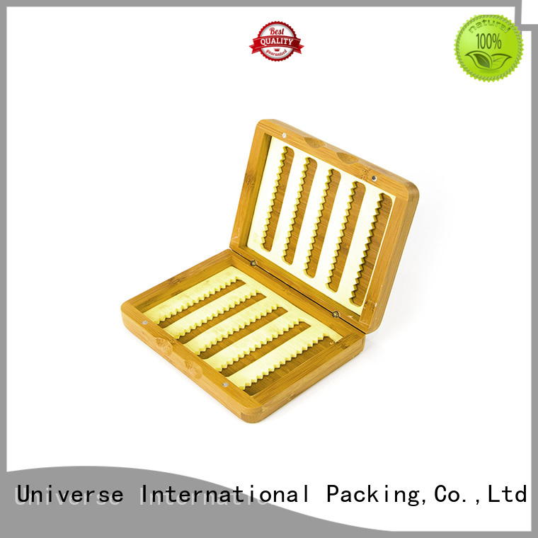 bamboo jewelry box box printed bamboo tea box manufacture