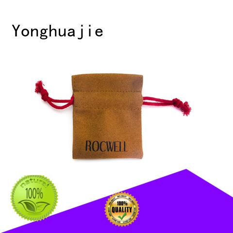 logo customized Yonghuajie Brand suede flap bag
