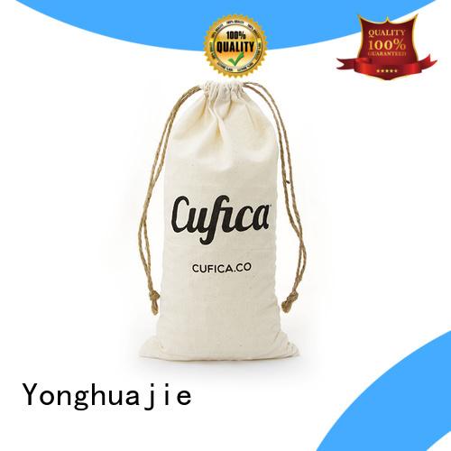 cotton gift bag free sample for cosmetics Yonghuajie