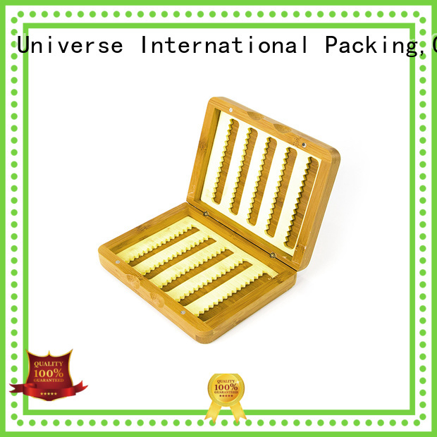 top manufacturer bamboo drawer organizer for gift packing Yonghuajie