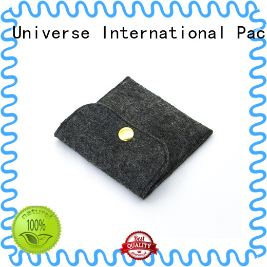 Yonghuajie small felt purse for goods