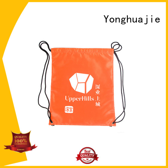 Yonghuajie drawstring 600d nylon Supply for packing