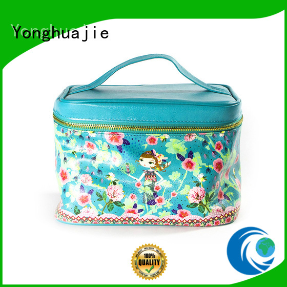 leather cosmetic pouch leather lining pouch Warranty Yonghuajie