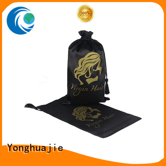 soft satin bags high-end with handle for shoes