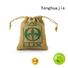 Yonghuajie Brand tote quality custom jute gift bags