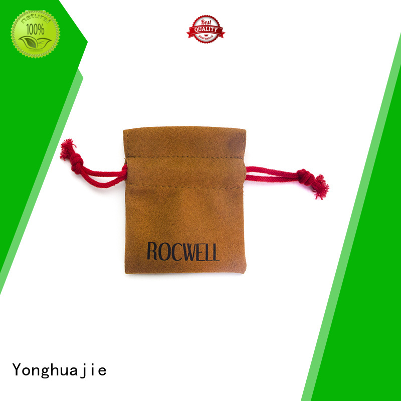 drawstring bag Yonghuajie Brand suede flap bag factory