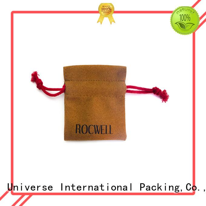 suede flap bag packaging Yonghuajie Brand grey suede bag                                                                                                                                                                 suede jewelry pouch