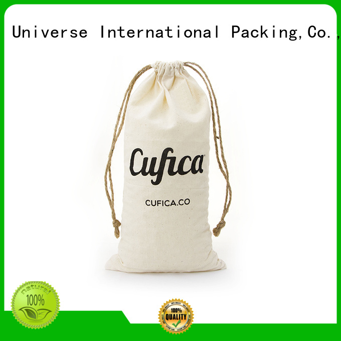 soft cotton shopping bags with power bank for packaging