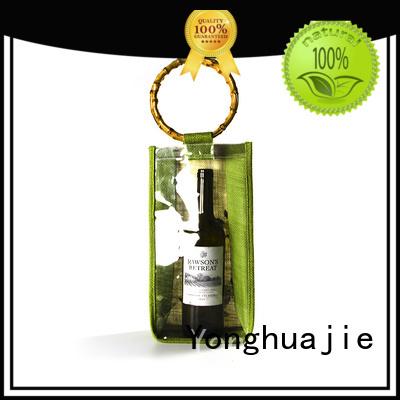 jute sack jute shopping bag drawstring for storage Yonghuajie