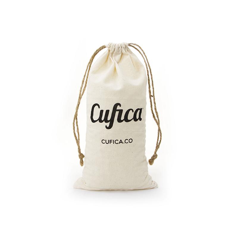Custom Printed Natural Cotton Storage Drawstring Bag-UIP007