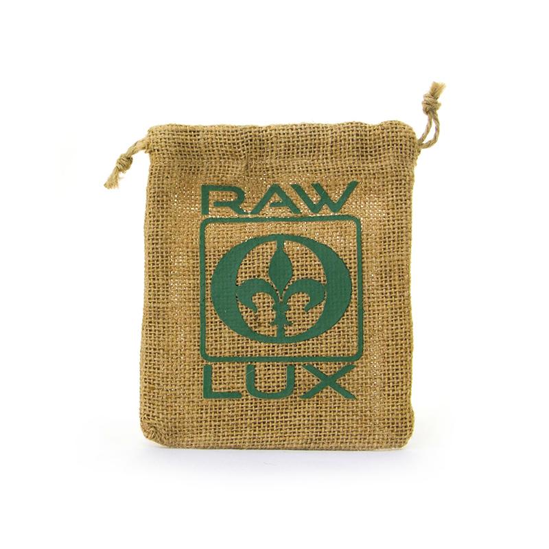 Custom Logo Natural Jute Coffee Drawstring Personalised Jute Bags-UIP005