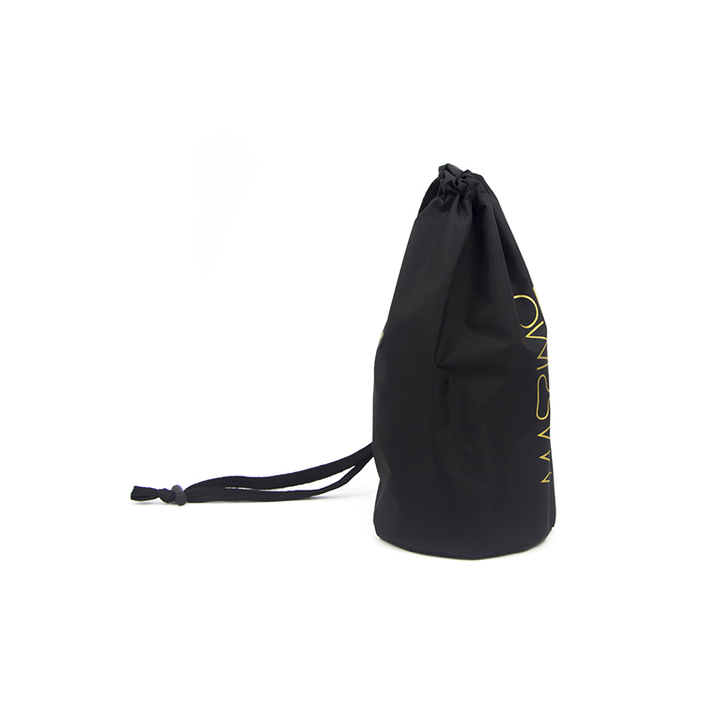 Custom Made Nylon Drawstring Bag With Silk Printing-UIP015