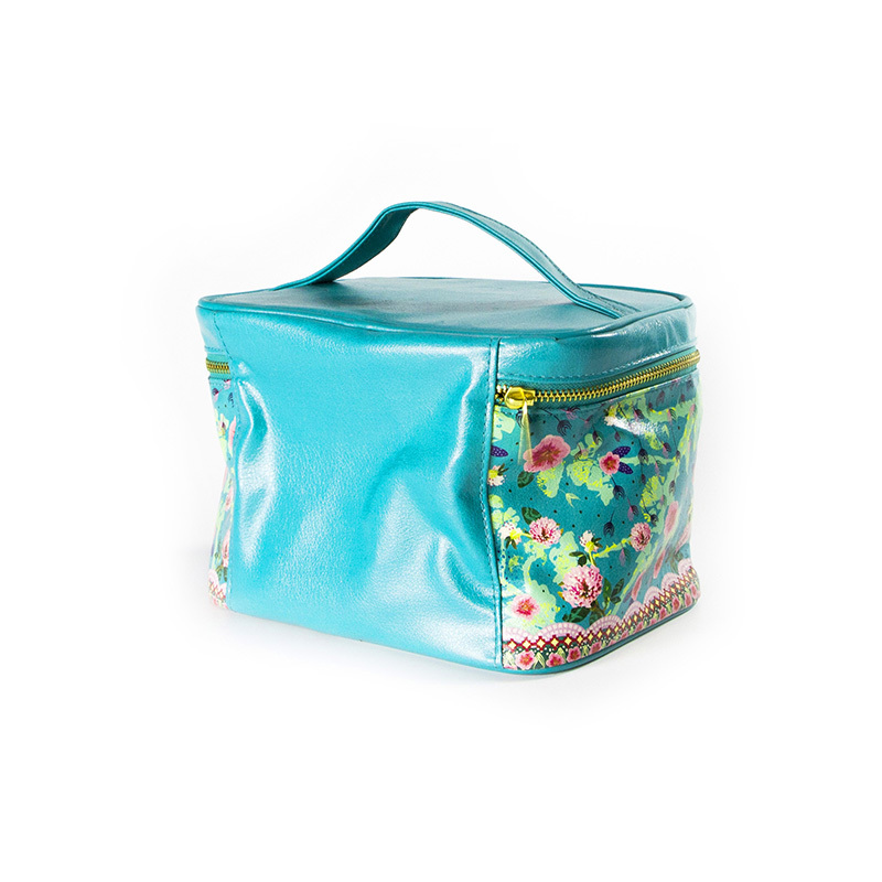 Custom Printed Large Pu leather Cosmetic Packing Bag-UIP008