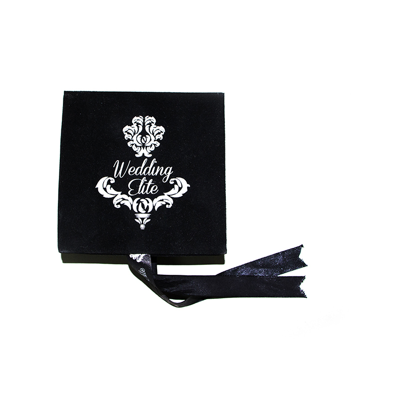 Custom Printed Luxury Velvet Jewelry Gift Box-UIP004