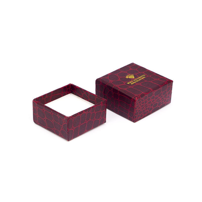 Custom Made Small Paper Storage Boxes With Gold Logo-UIP028