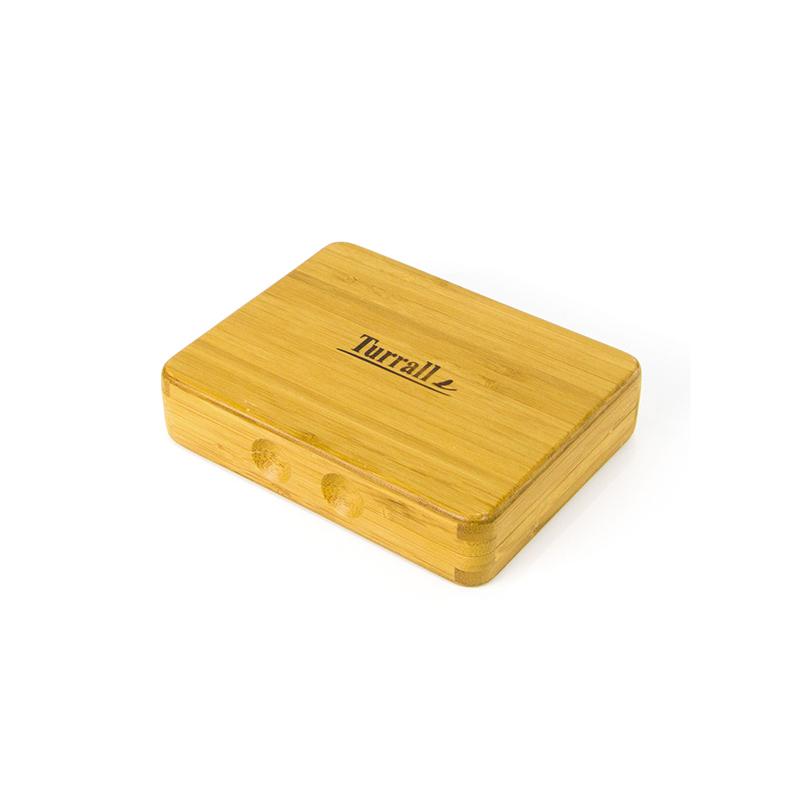 Custom Printed Natural Bamboo Tea Box For Storage-UIP026