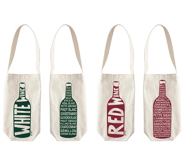 Cotton Tote Wine Bag