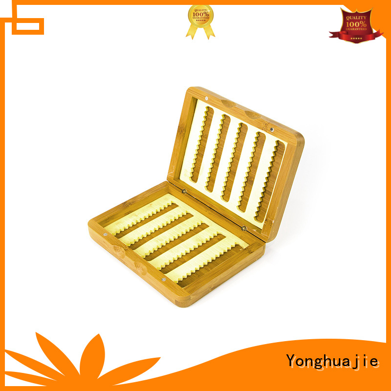 Yonghuajie Brand quality storage bamboo jewelry box gift supplier