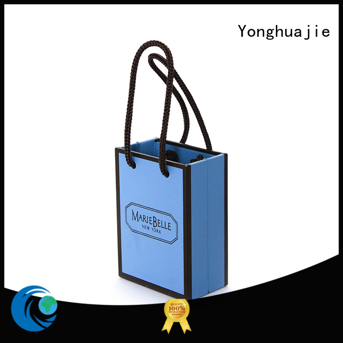 Yonghuajie paper storage boxes for wholesale for jewelry store