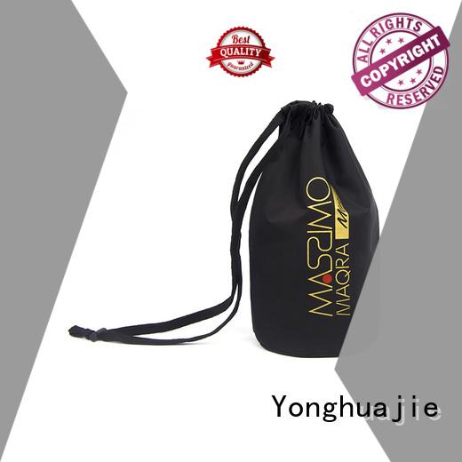 Wholesale storage gym nylon drawstring bag Yonghuajie Brand