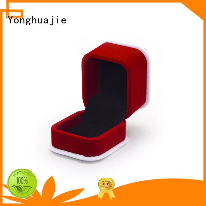oem crushed velvet box velvet ring box for gift