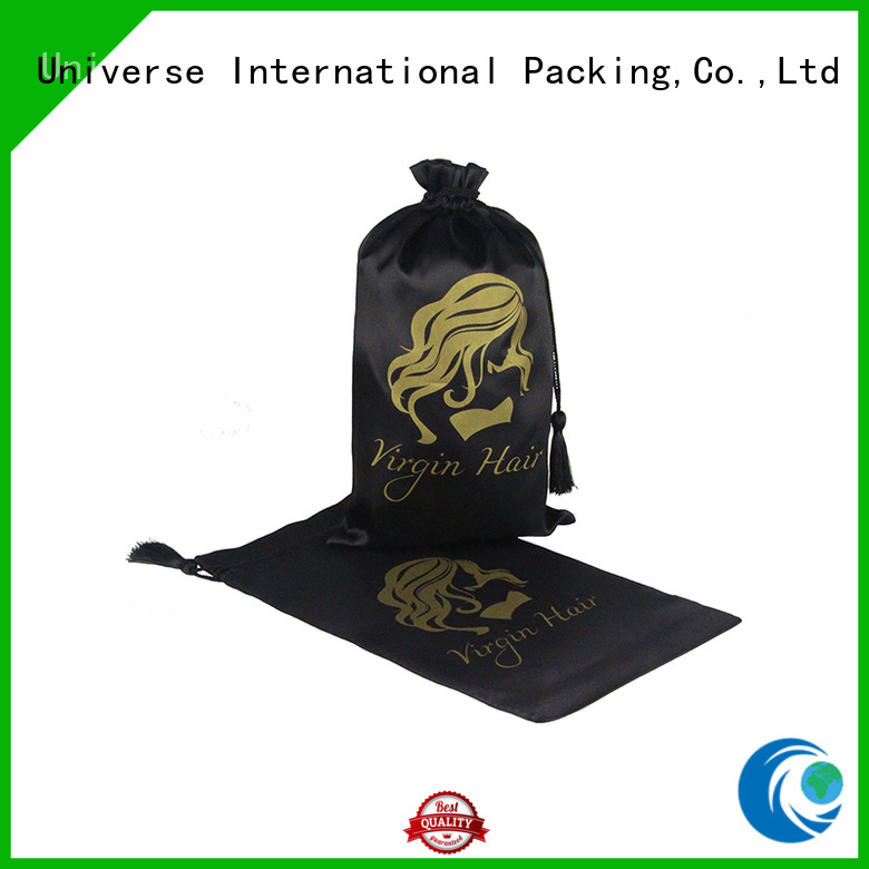 Yonghuajie soft satin drawstring bags with power bank for packaging