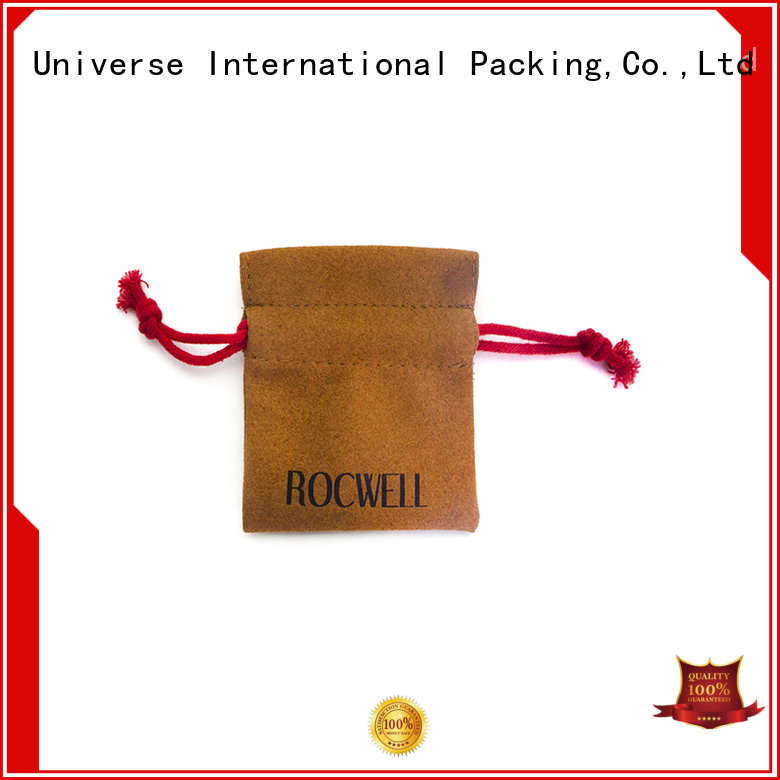 new arrival grey suede bag suede jewelry pouch suede drawstring bag free sample for school Yonghuajie
