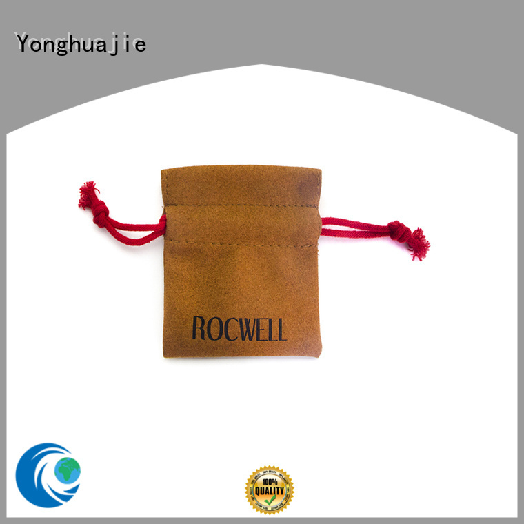 hot-sale grey suede bag suede jewelry pouch suede drawstring bag top-selling for friends