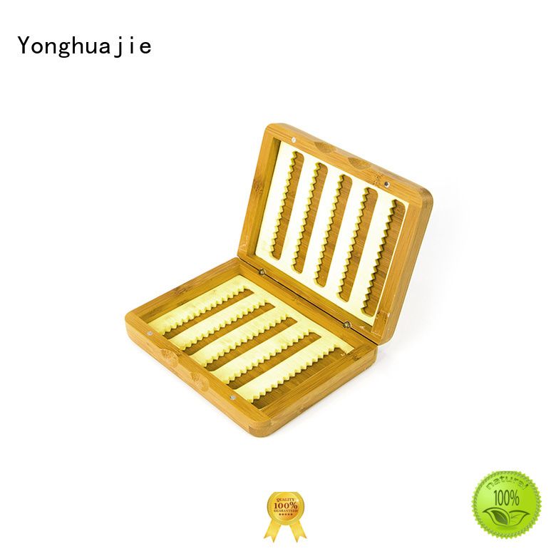 Yonghuajie high quality bamboo tea box bulk production for gift packing