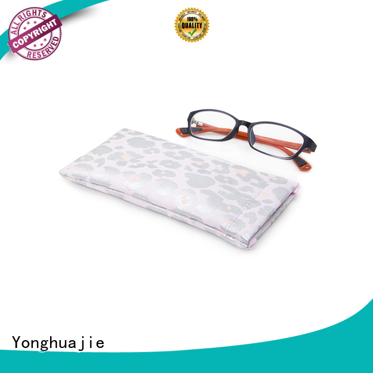pu zipper large leather makeup bag printed Yonghuajie
