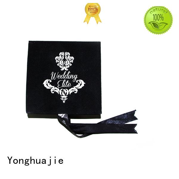 Quality Yonghuajie Brand velvet love box