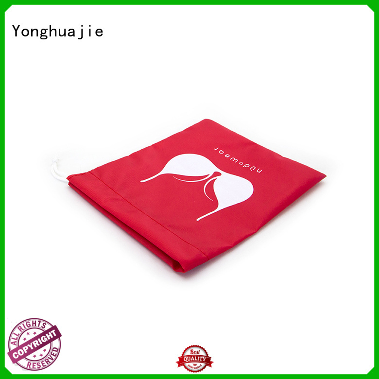 drawstring polyester tote bags with handle for packing