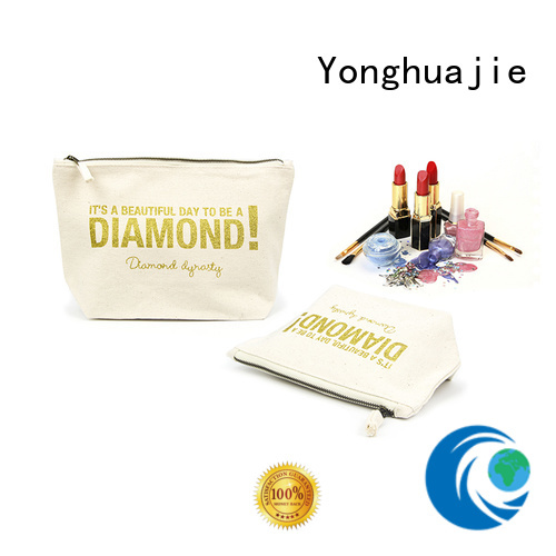 Yonghuajie order small canvas bags lamination for travel