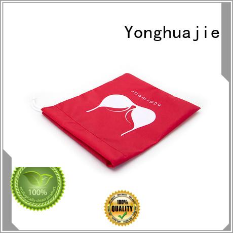 Yonghuajie digital nylon shopping bags silk for cosmetics