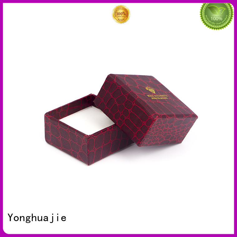 Yonghuajie gold blue gift box company for jewelry shop