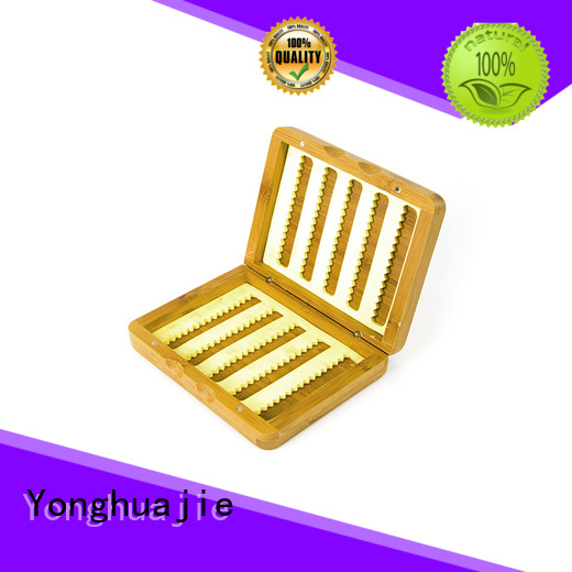 storage bamboo tea box printed gift Yonghuajie company
