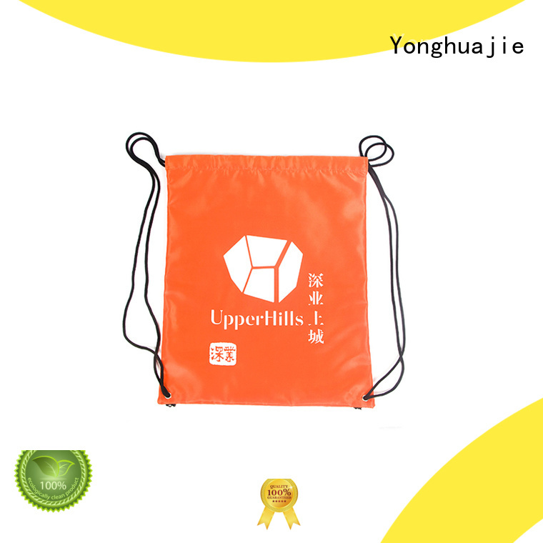 silk polyester bag with power bank for shoes Yonghuajie