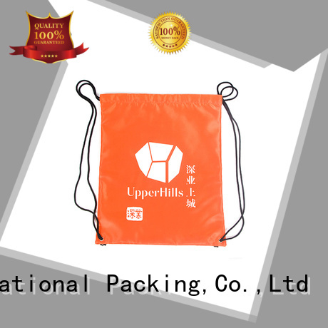 orange nylon drawstring bag natural Yonghuajie company
