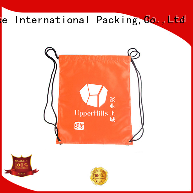 silk polyester bag with handle for shopping Yonghuajie