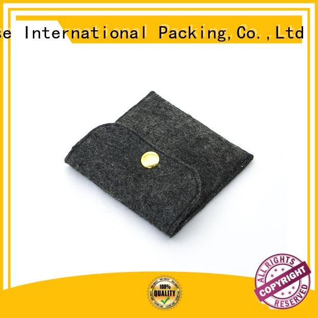 customized flap felt durable felt tote bag Yonghuajie Brand