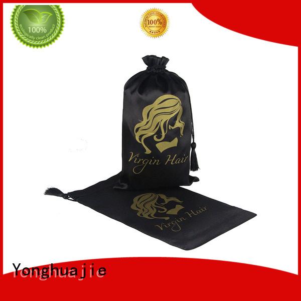 satin packaging bags Yonghuajie Brand satin bags