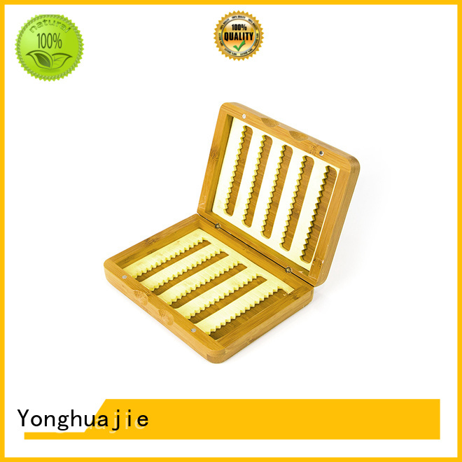 top quality bamboo tea box for goods