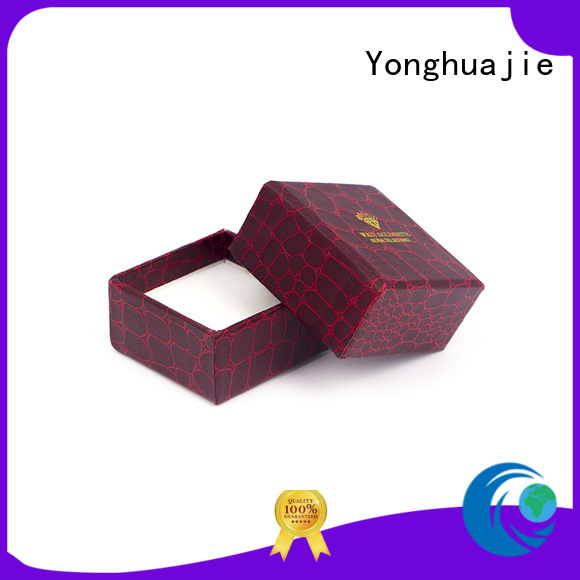gift paper plastic Yonghuajie Brand fold paper box manufacture