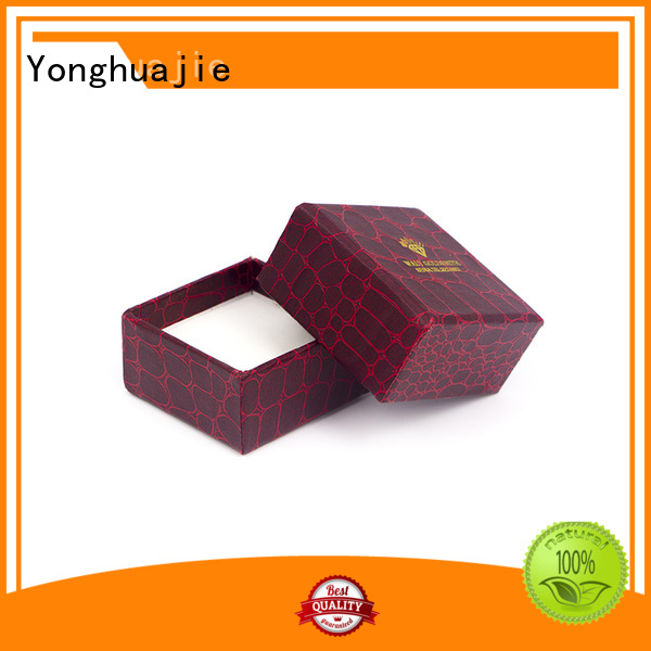 Wholesale box fold paper box gold Yonghuajie Brand
