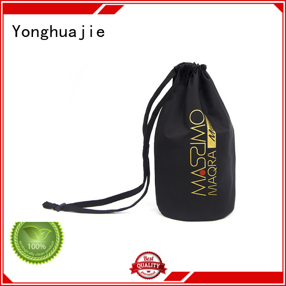 Yonghuajie tote polyester tote bags with drawstring for packing