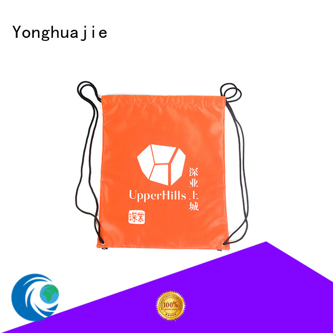 Yonghuajie white ears nylon luggage bags with drawstring for shoes