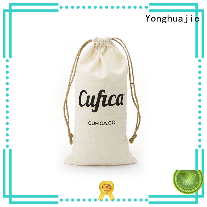 Wholesale printed cotton carry bags natural Yonghuajie Brand