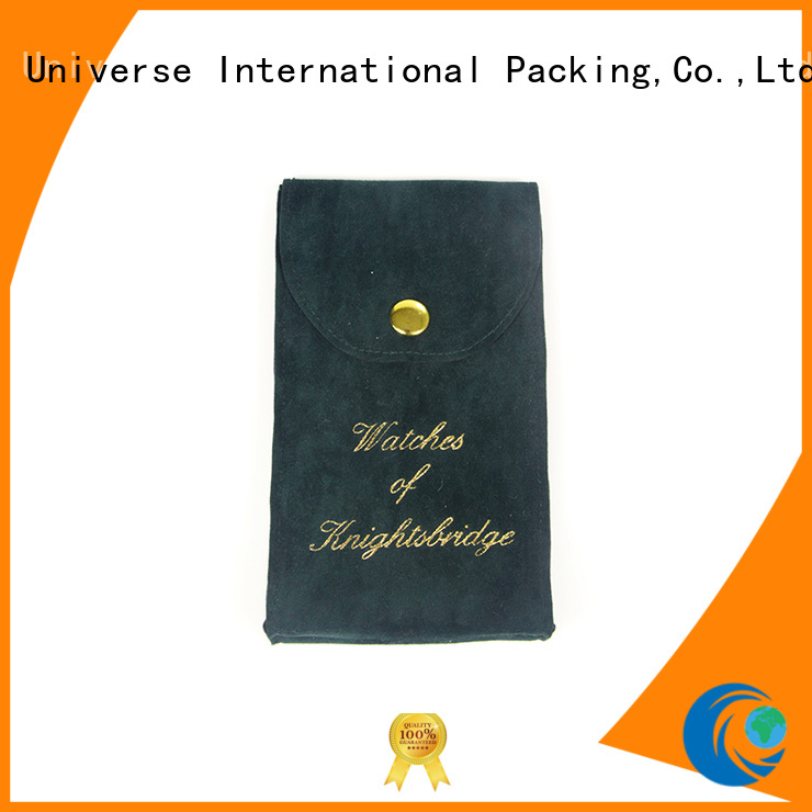 Yonghuajie top manufacturer velvet pouch best factory price for watch packing